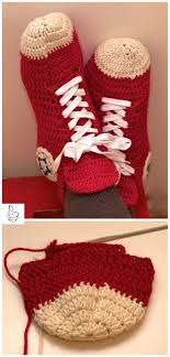 pattern crochet converse slippers crochet women slippers shoe patterns adult slippers converse