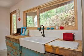 KitchensinkslowesKitchenIndustrialwithapronsinkblue - Kitchen sink paint