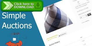 auto bid auction themeforest free nulled woocommerce simple auctions