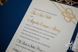alejandro s nautical themed wedding invitation