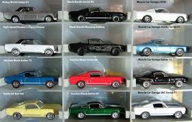 64 Mustang Black Greenlight Mustang Group A