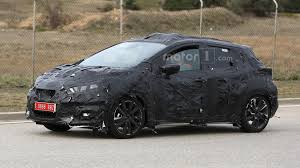 nissan micra new 2017 2017 nissan micra spied showing sway concept influences