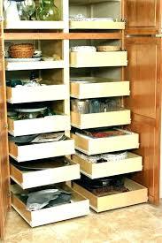 kitchen cabinet organizers for pots and pans glideware pull out cabinet organizer for pots and pans dutchtalk info