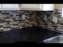 how to install glass tile backsplash in kitchen stylish how to install glass tile backsplash how to