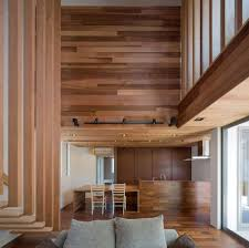 much of wooden details anywhere in the timber home interior