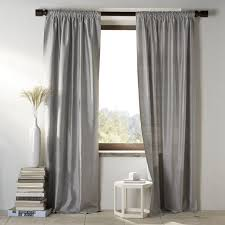 Pewter Curtains Silk Curtains Cheap Aretha Crushed Faux Silk Curtain Panels With