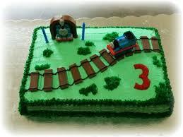 thomas the tank engine sheet 1 2 sheet cake with thomas theme
