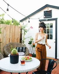 Home Interior Blogs by Our Backyard Bistro Area The Reveal New Darlings