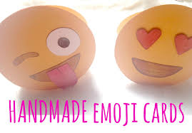 how to make an emoji greeting card cute stuff youtube