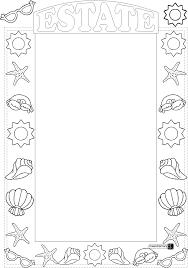 Halloween Border Templates by Printable Frames And Borders