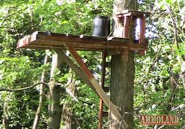 Scissor Lift Hunting Blind How To Build A Simple Permanent Treestand For Hunting