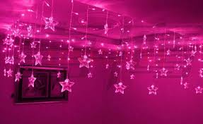 pink lights for room 3 5m 100 bulbs pink luminarias 16p pearl stars led string curtain