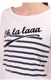 themed ls maison scotch maison scotch ls cn t shirt with themed print