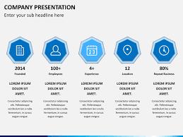 company profile free powerpoint template slidebazaar company
