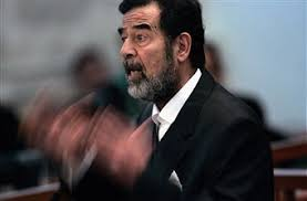 iraqi president saddam hussein salutes the crowd pictures getty