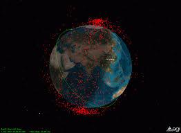 Space Junk Map Celestrak Chinese Asat Test