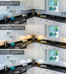 How To Choose Under Cabinet Lighting Kitchen by 4 Types Of Under Cabinet Lighting Pros Cons And Shopping Advice