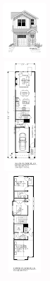 narrow house plans house plan for 25 by 53 plot size 147 square yards 320201250