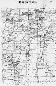 Canandaigua New York Map by Historic Town Maps
