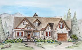 Cottge House Plan by Riverstone Cottage Retirement House Plans Rustic House