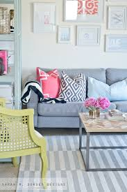 sarah m dorsey designs diy striped painted rug in about 2 5 hours