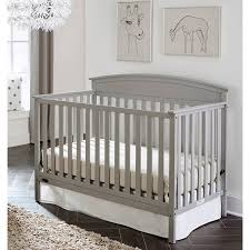 Graco Convertible Crib Bed Rail Graco Benton 5 In 1 Convertible Crib Pebble Gray Walmart