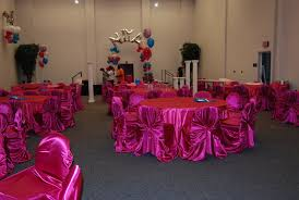 Pink Chair Covers Self Tie Chair Cover Rental