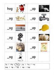 english worksheets phonics 3 letter words cvc writing og ap