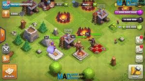clash of 2 mod apk clash of clans mod apk v9 256 20 unlimited money