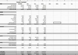 Personal Budget Spreadsheet Template Sle Household Budget Excel And Sle Budget Spreadsheet