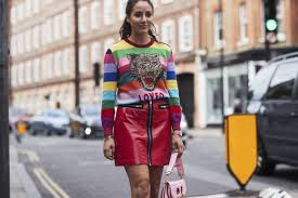the best street style at london fashion week ss18