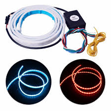 Auto Led Strip Lights by Flow Led Strip Trunk Light Make Your Car Look More Cool