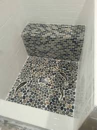 546 best bathroom pebble tile and stone tile ideas images on