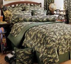 Army Bed Set Digital Camo Bedding White Bed