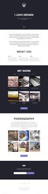 webseiten design die besten 25 one page portfolio ideen auf page one