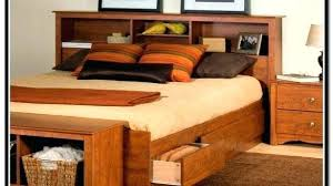 queen headboard storage awesome best queen storage bed with
