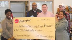 Annette Barnes Pizza Hut Raises 4 060 For Barnes Elementary The Wilson Times