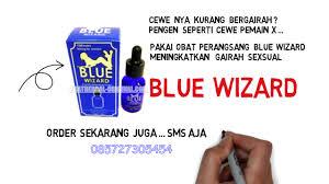 blue wizard asli jerman perangsang wanita ampuh