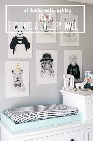 How To Design A Gallery Wall How To Create A Gallery Wall At Home With Ashley