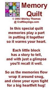 image result for quilt label for a quilt made of shirts quilting