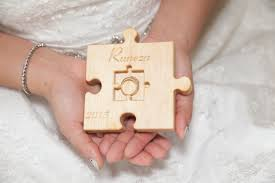 Wedding Ring Holder by 52 00 Usd Personalized Wood Wedding Ring Bearer Pillow Rustic