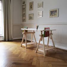 bureau avec treteau europe nature bureau tréteau avec rangement gamy bureaux