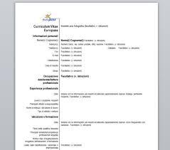 curriculum vitae formato europeo pdf da compilare online curriculum vitae curriculum vitae template italiano
