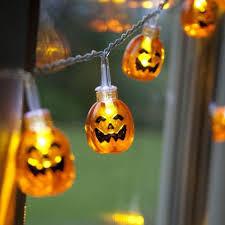 Halloween Decorations Lights by Pumpkin String Lights Promotion Shop For Promotional Pumpkin