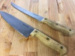 Used Kitchen Knives For Sale Farberware Kitchen Knives Set 2 Pcs Stainless Steel Wood Handles
