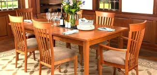 mission style dining room set craftsman style dining room table mission style cherry dining
