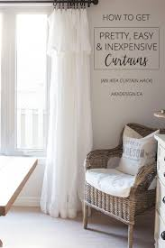 Muslin Curtains Ikea by Best 25 Inexpensive Curtains Ideas On Pinterest Diy Clothes Rod