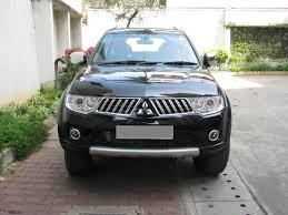 my mitsubishi pajero sport black mt 4x4 team bhp