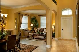 open living room space in the monte carlo model in tampa fl