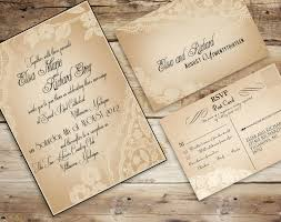 vintage lace wedding invitations diy vintage lace wedding invitations wedding decorate ideas